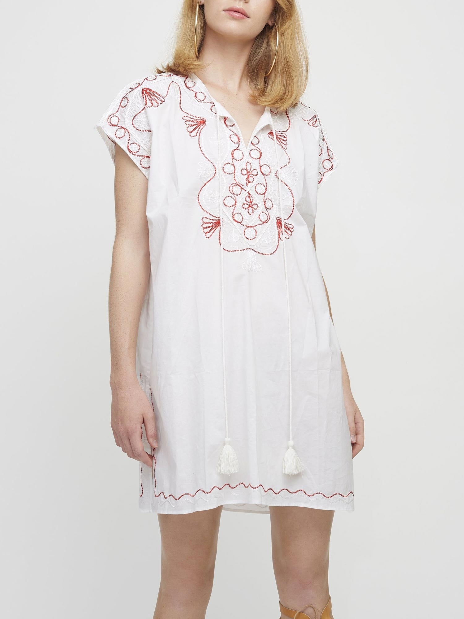 Goa Kaftan Dress | White