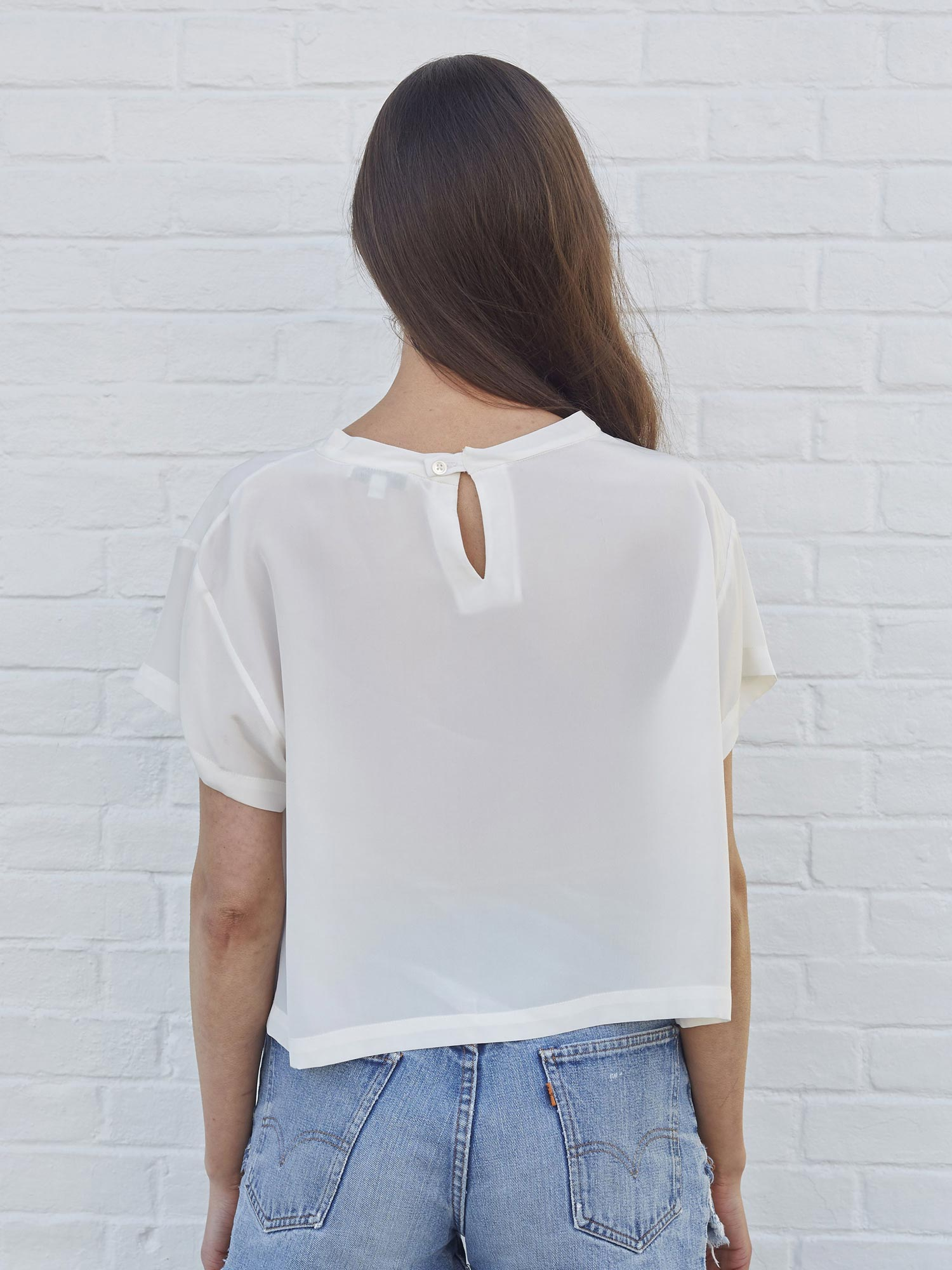 <b>Holly Blouse</b><br><i>White</i>