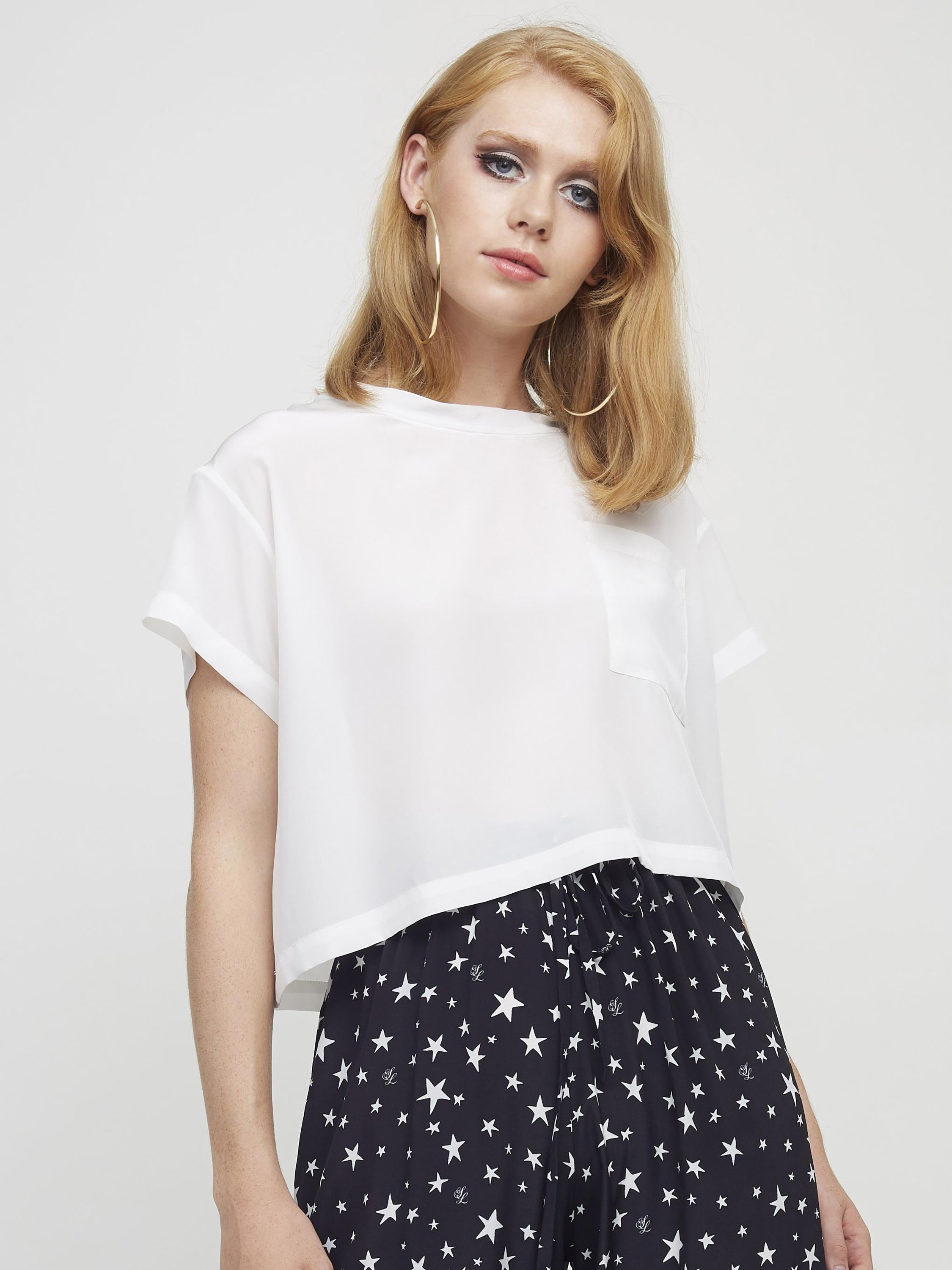 Holly Blouse | White
