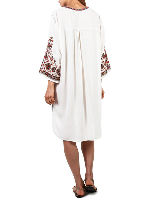 Jaffa Kaftan Dress | White