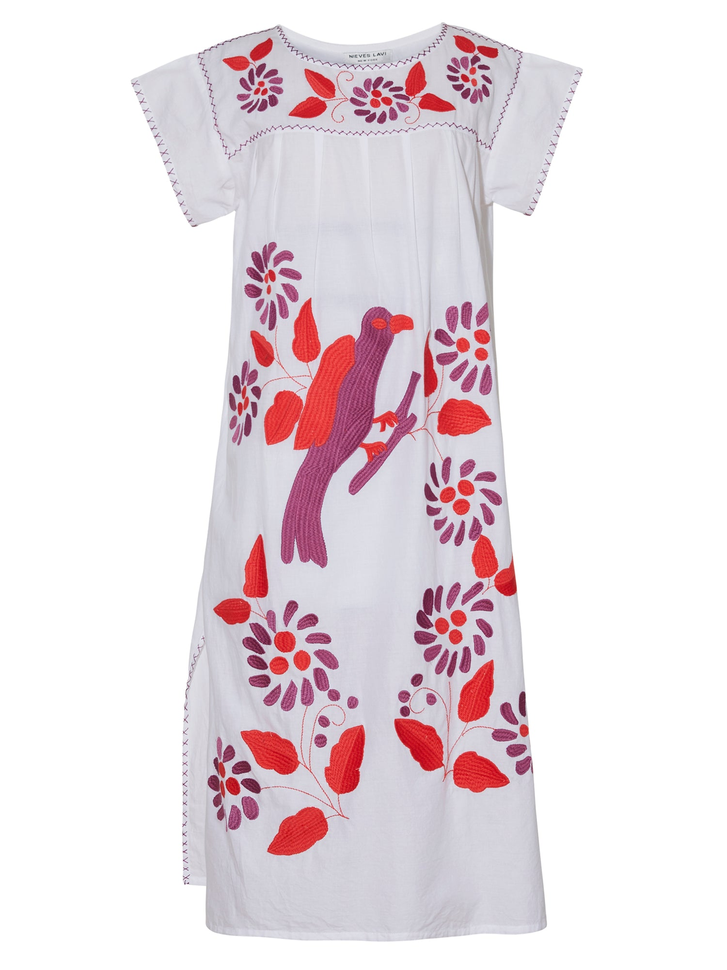 Kaya Kaftan Dress | White