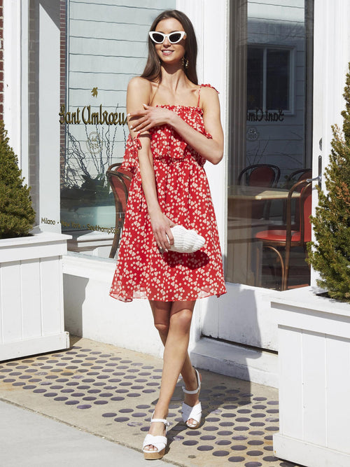 Lily Dress | Dotty Print