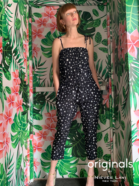 Luna Jumpsuit | Nights Print