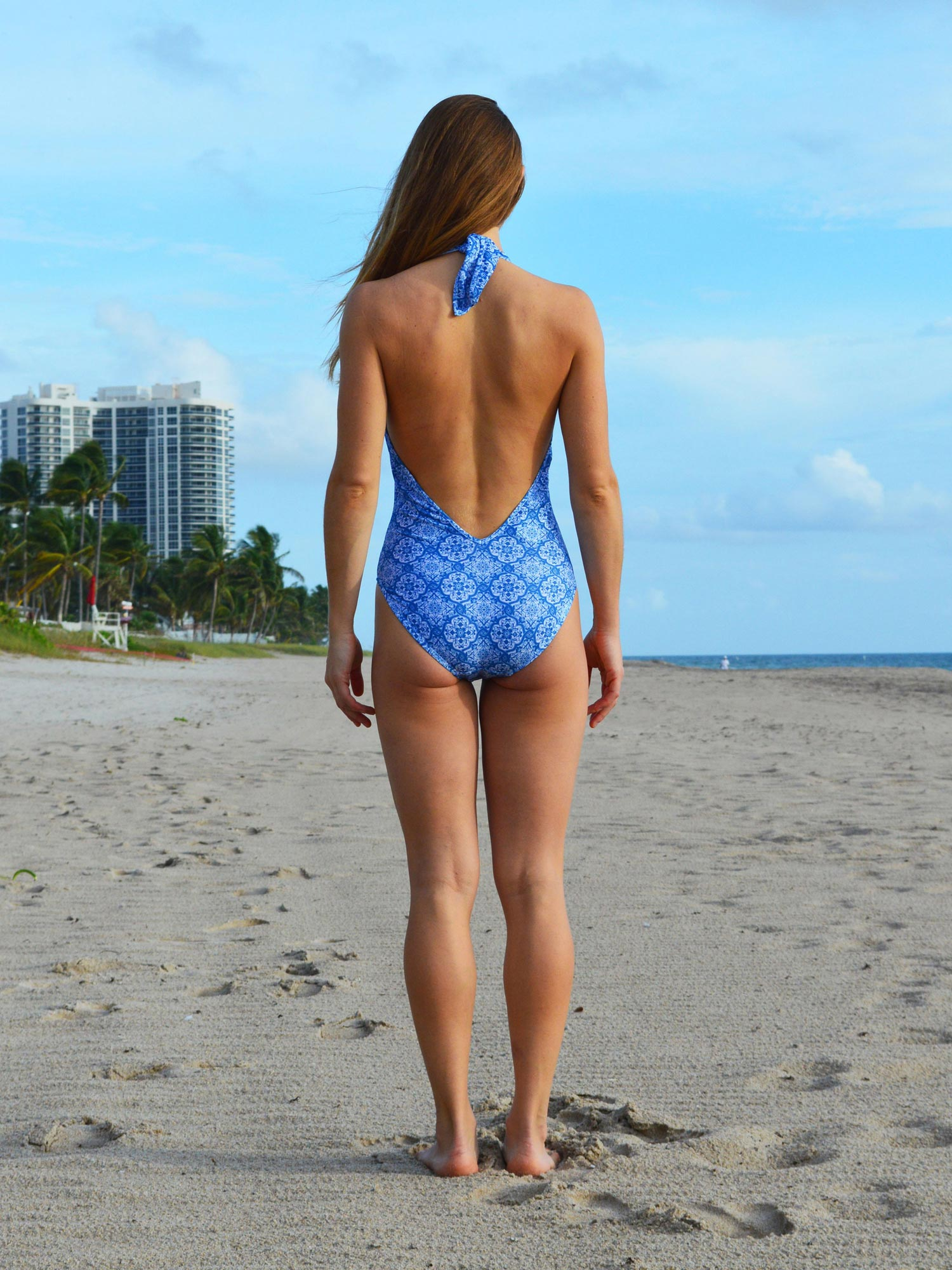 One Piece Swimsuit | Kai Print