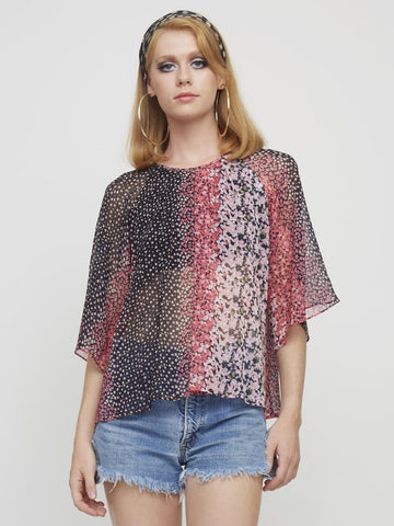 <b>Holly Blouse</b><br><i>Nights Print</i>