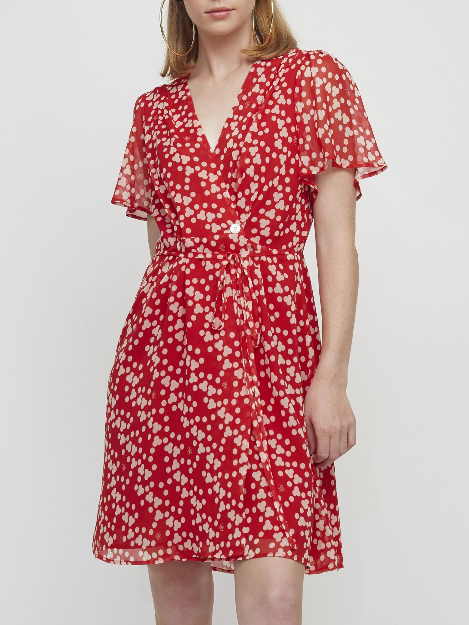 Rita Dress | Dotty Print