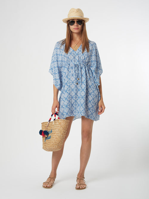 <b>Riva Kaftan Dress</b><br><i>Kai Print</i>