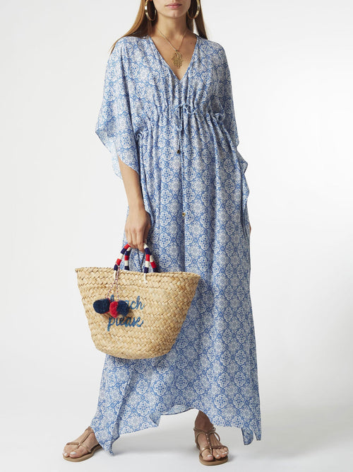 <b>Salma Kaftan Dress<b> | <b>Kai Print<b>