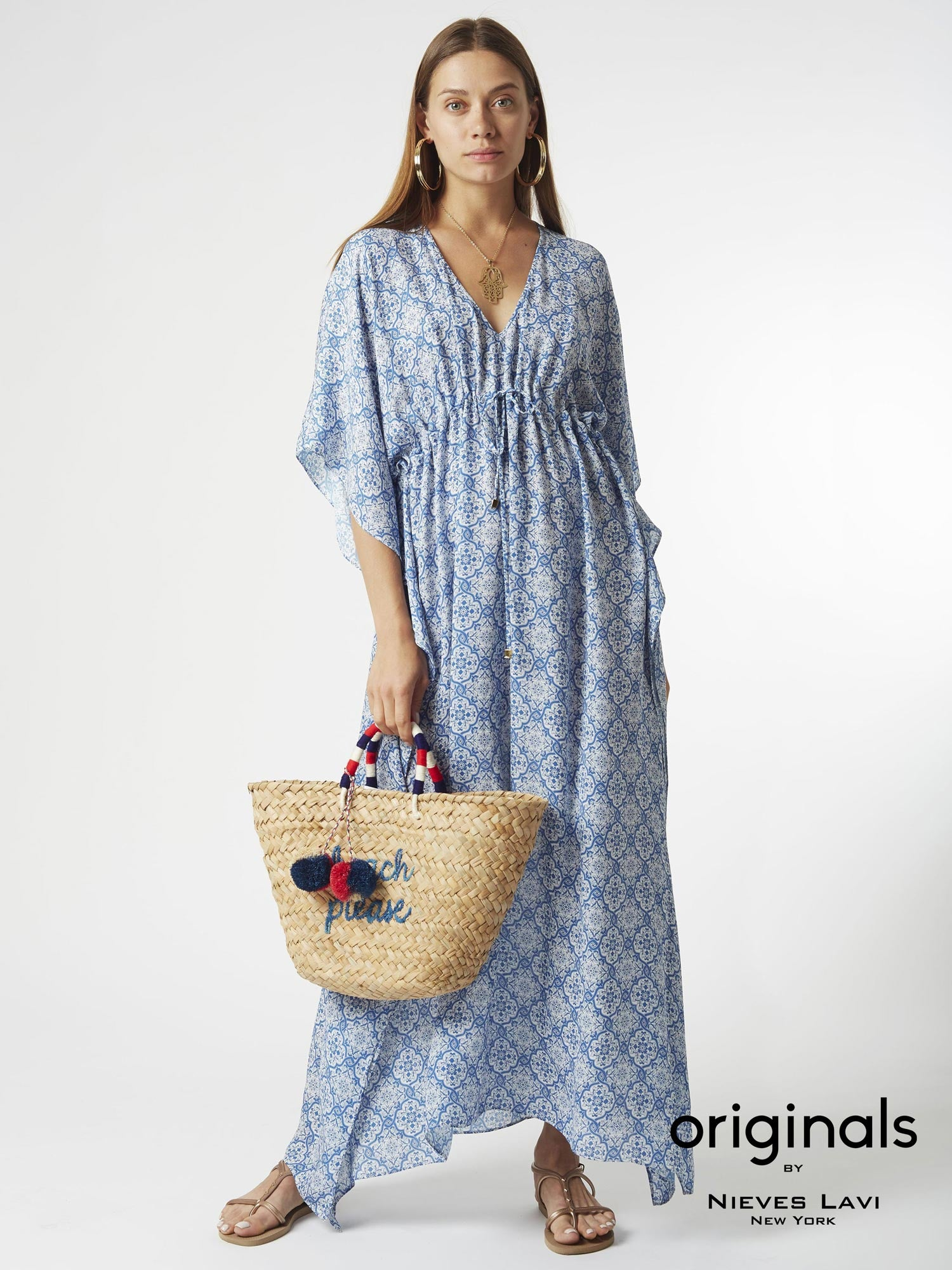 Salma Kaftan Dress | Kai Print