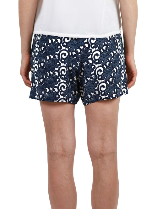 Printed shorts | Silk Crepe de Chine
