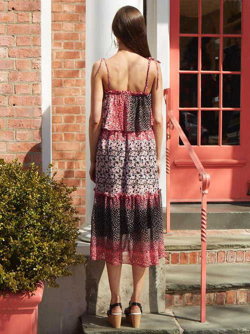 <b>Sienna Dress</b><br><i>Dalida Print</i>