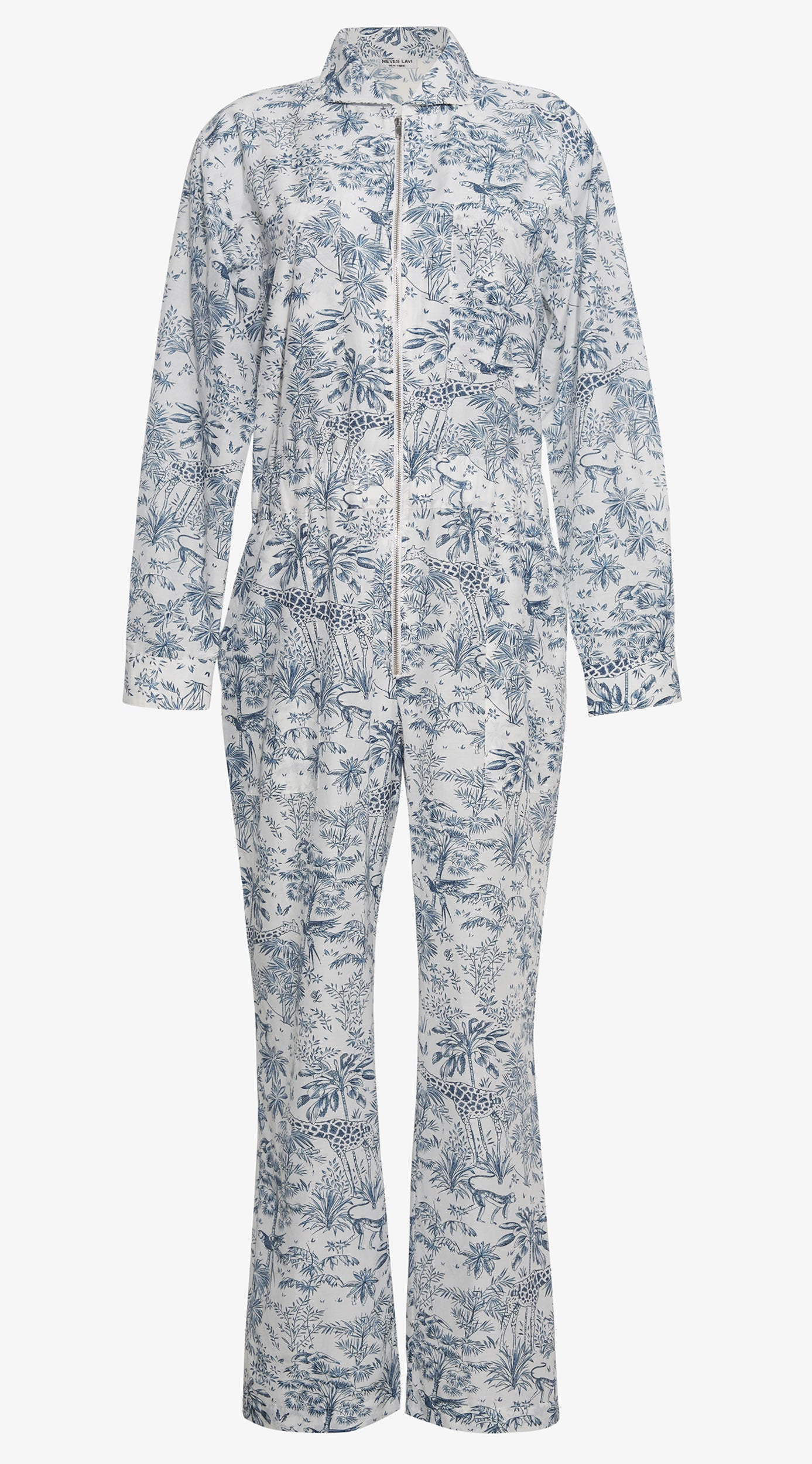 Aviana Jumpsuit | Toile de Safari Print