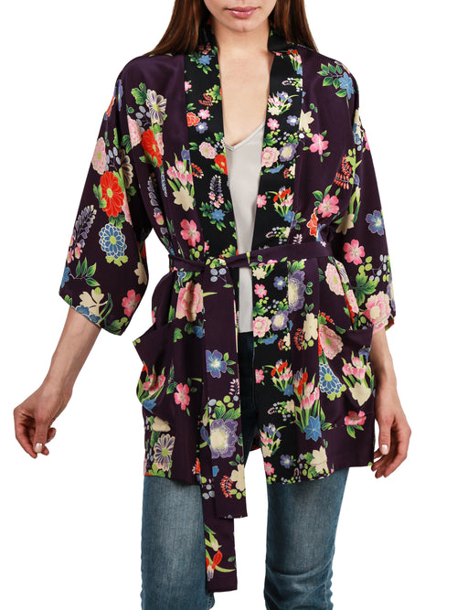 <b>Printed blouse</b><br><i>Silk Crepe de Chine</i>