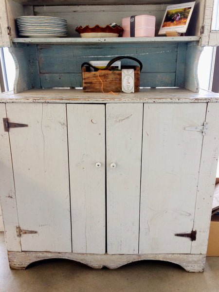 Antique Farm Hutch