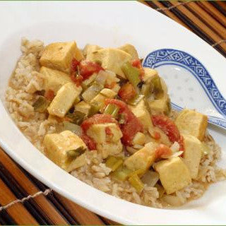 Tofu Coconut Green Curry