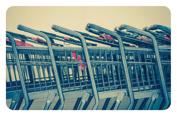 RT102-F Retail Shopping Carts