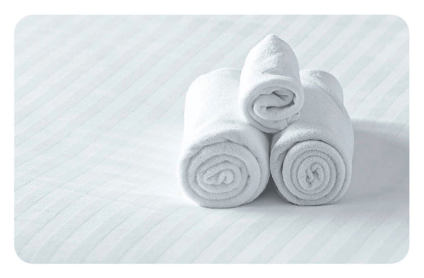 HS002-F Hotel & Spa White Towels