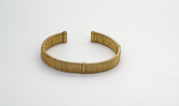 14 ct Gold Wrapped Wire Braclet