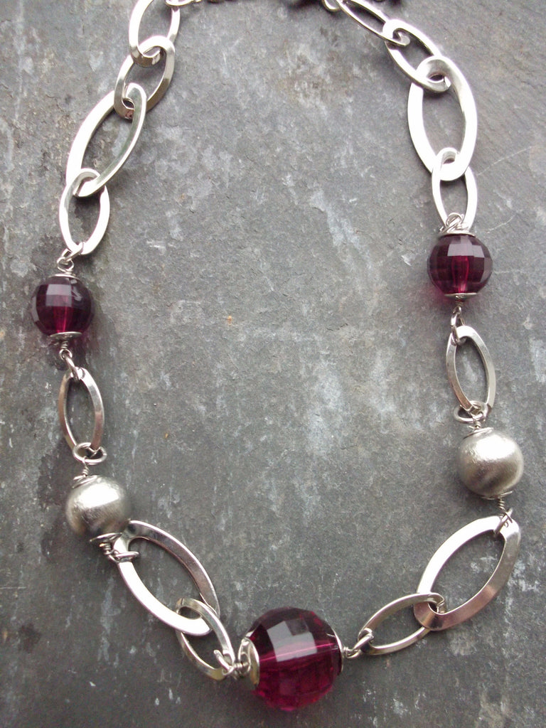 Orb Chain Link Necklace