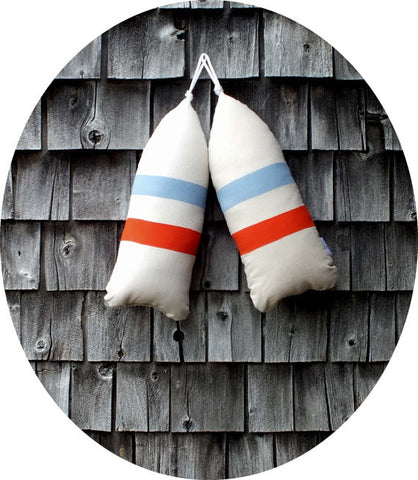 Handmade Maine Lobster Buoy Pillow
