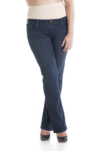 "#1506 Bootcut Dark Wash (32"" Inseam) - Plus Size"