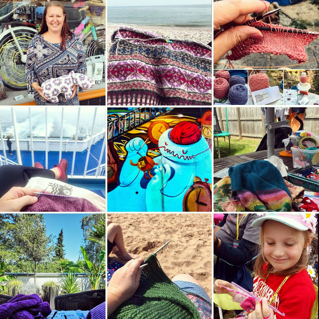 Take Your Knitting Outside - Competition Winner!