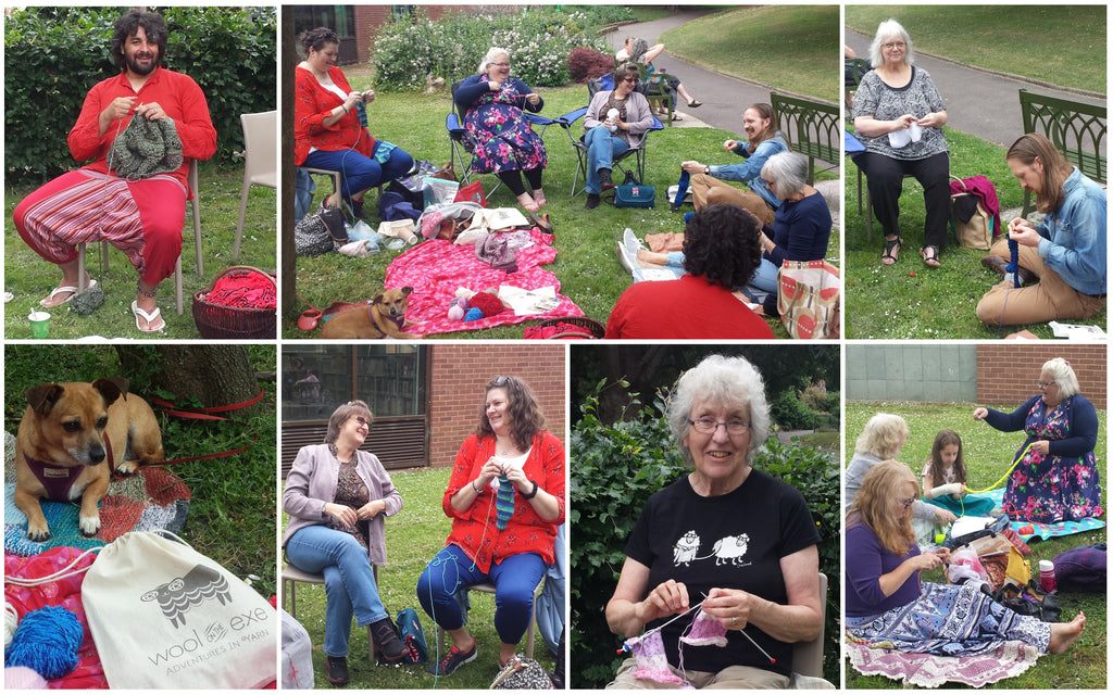 Take Your Knitting Outside - Photo Competition!