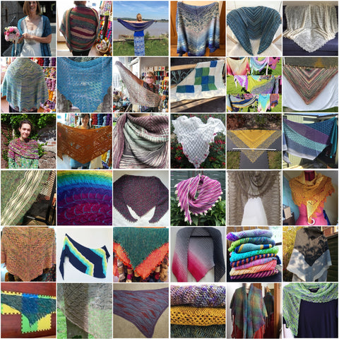 All the beautiful Shawls!