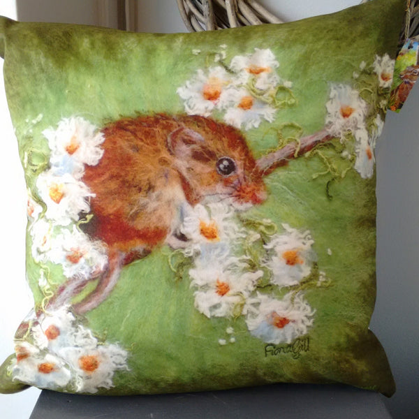Marmalade Rose cushion