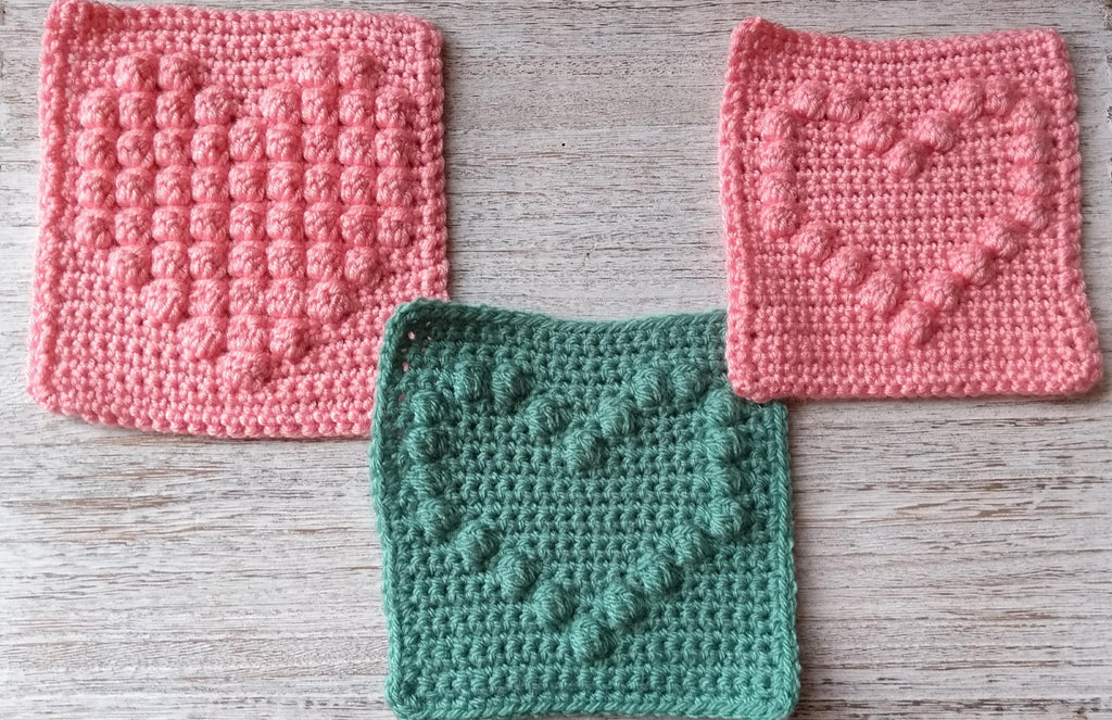 Next step crochet: Learn the bobble stitch
