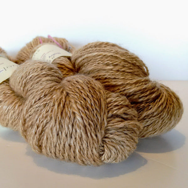 Hand spun Suri, baby, alpaca, camel and alpaca/silk blends