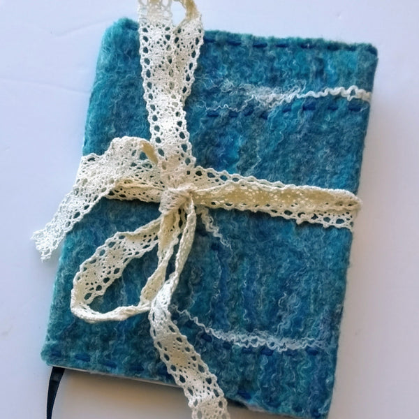 Felted notebooks