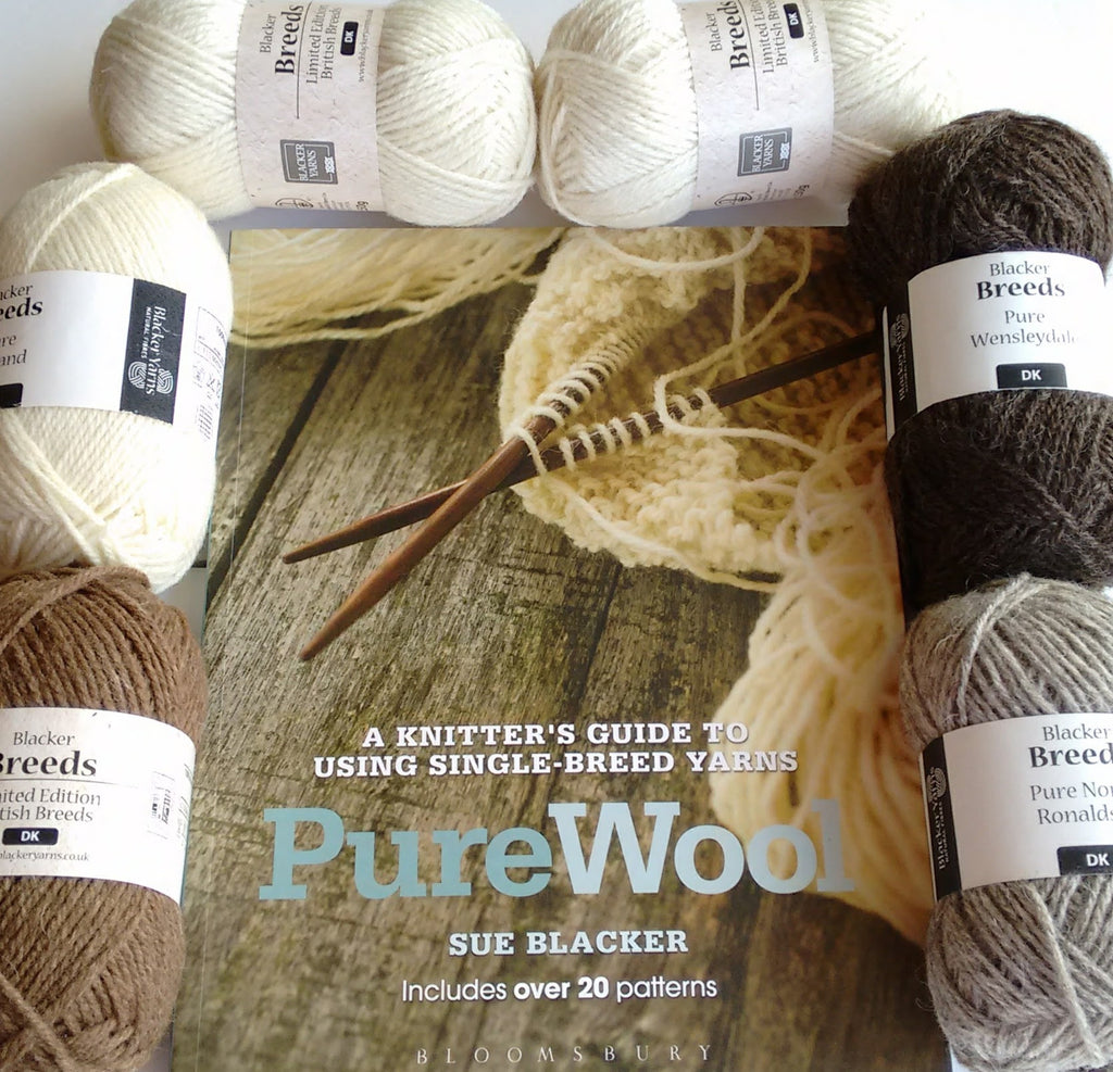 British Breeds taster pack with Sue Blacker's book, Pure Wool