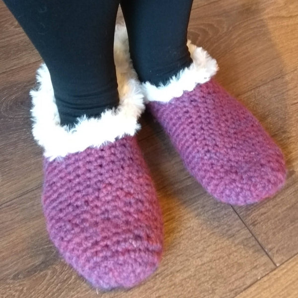 Next step crochet: Irresistible cosy slippers