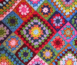 Learn to crochet a granny square