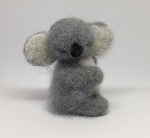 Needle felt our adorable Koala