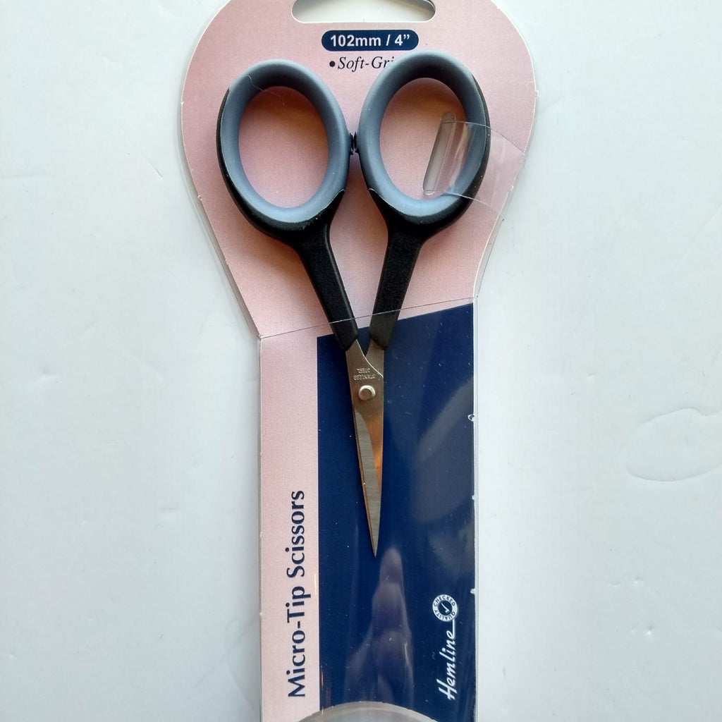 Scissors - soft grip micro tip