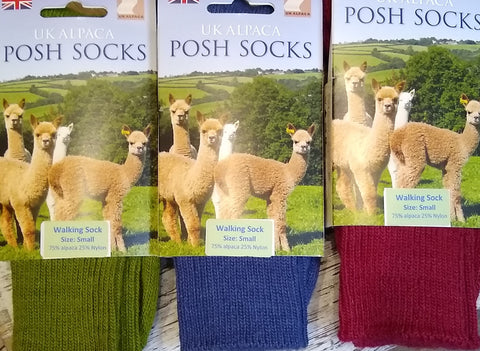 Posh Socks - Alpaca walking socks