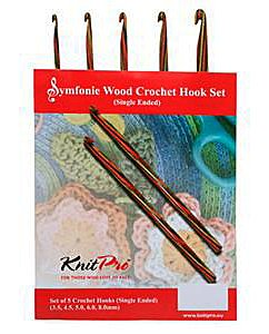 Symfonie Wood Crochet Hook Set