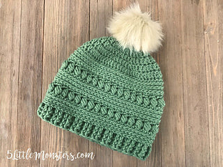 Bead Stitch Hat by Erica Dietz