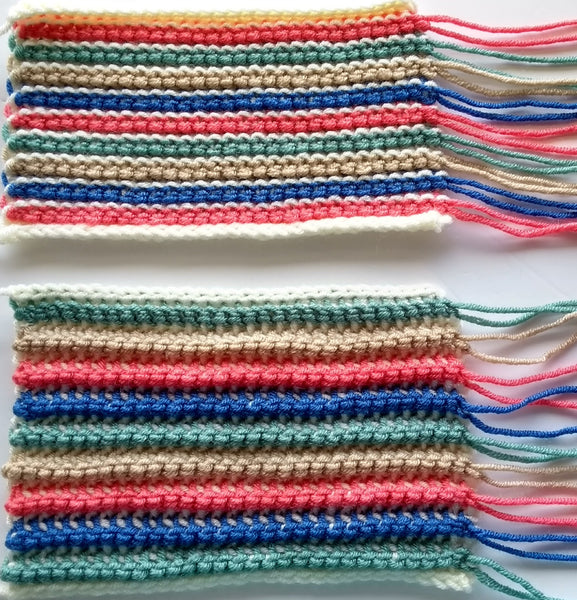 Double ended Tunisian Crochet for beginners