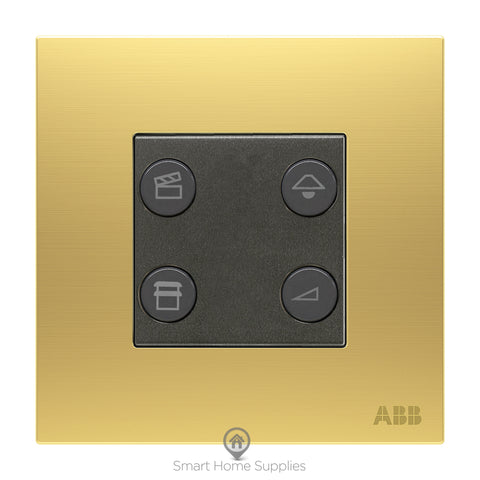 ABB free@home® Switch 4 Gang - 1 Dimming Actuator