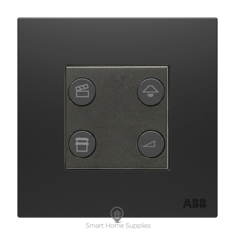 ABB free@home® Switch 4 Gang - 2 Switch Actuators