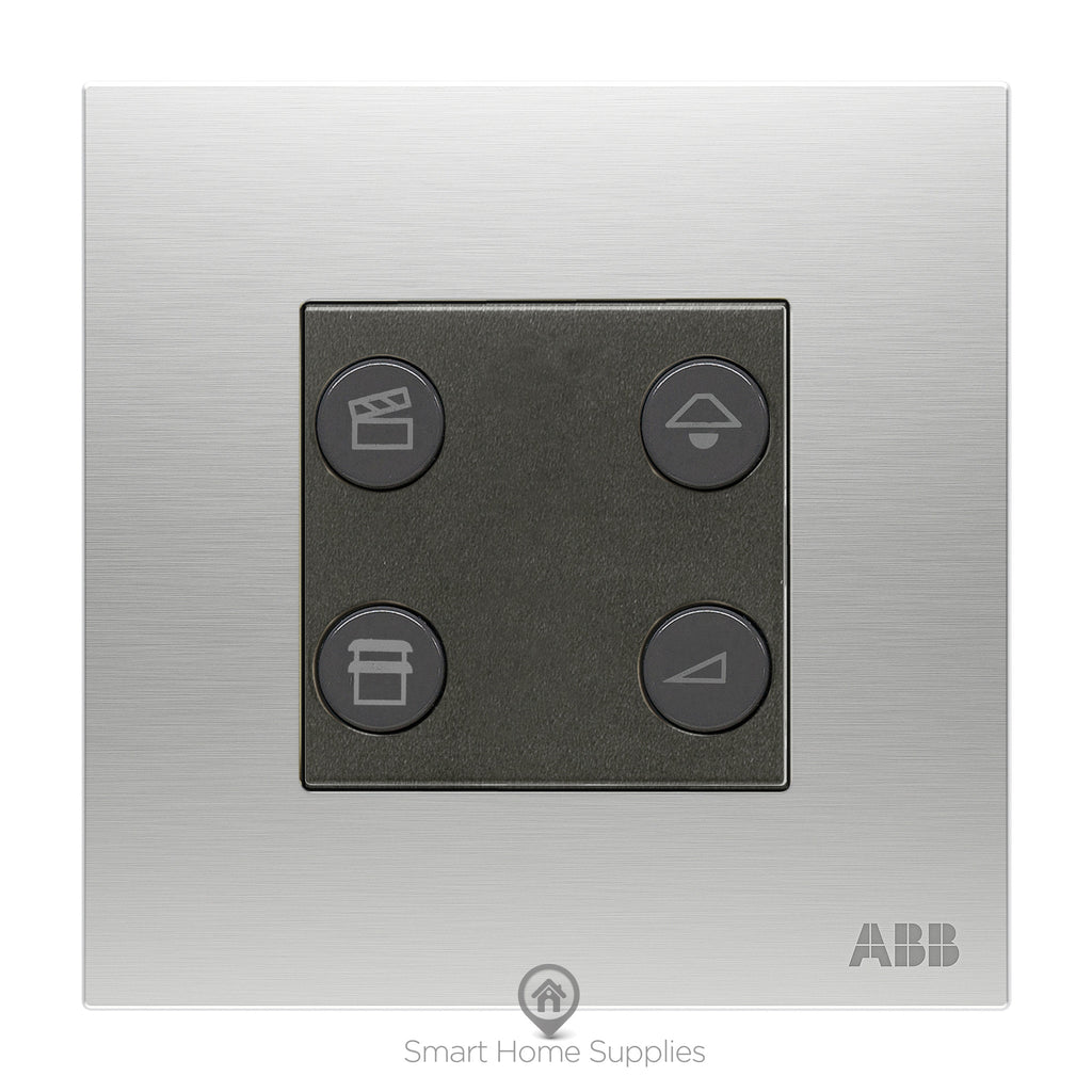 ABB free@home® Blind Switch 4 Gang - 1 Actuator
