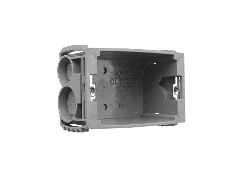 Clipsal - Flush mounting J back box Plastic