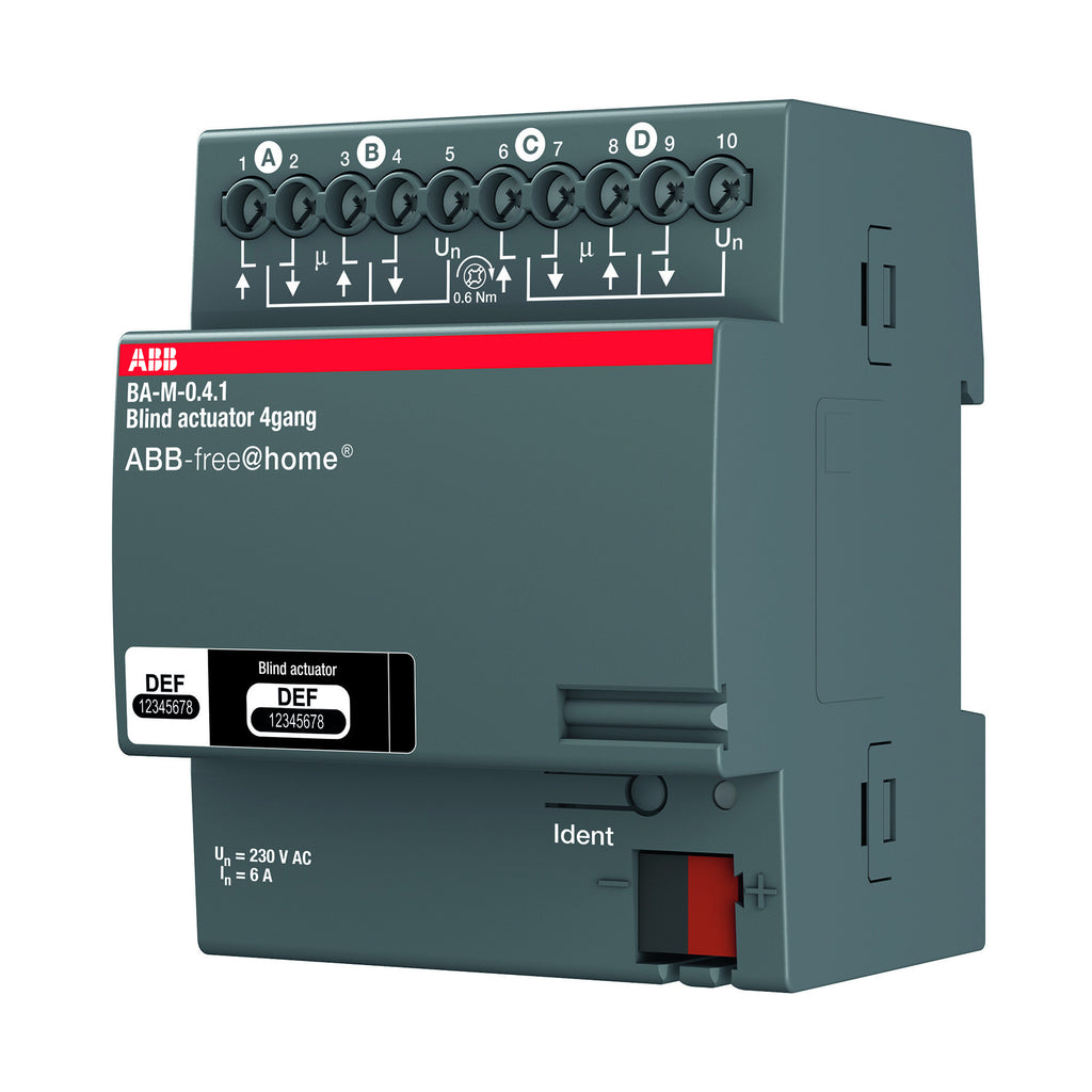 ABB free@home® Blind Actuator 4 Way