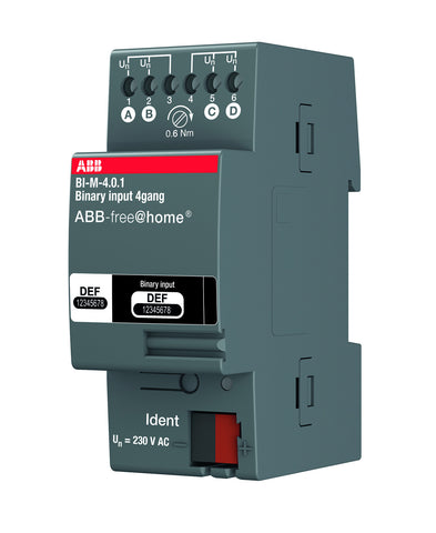 ABB free@home® Binary Input 4 Way