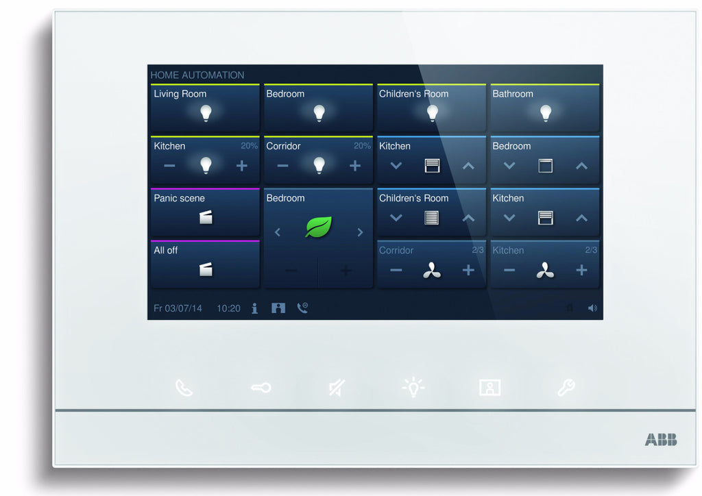 "ABB free@home® Touch 7"" White"