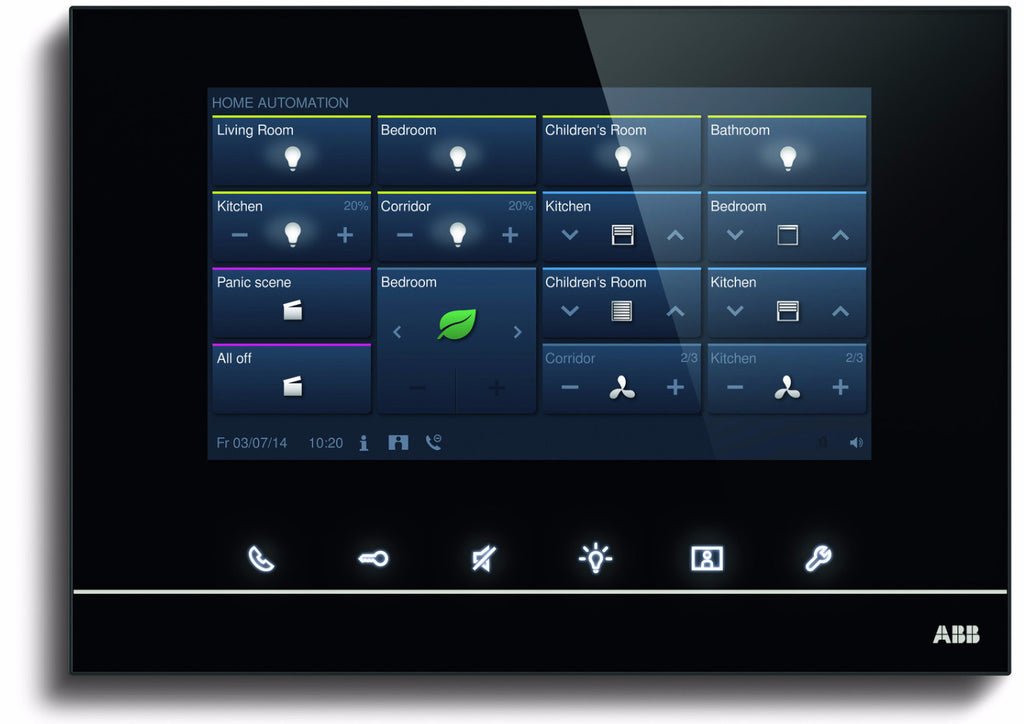 "ABB free@home® Touch 7"" Black"