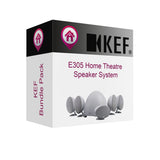 KEF - E305 Home Theatre Speaker System Bundle